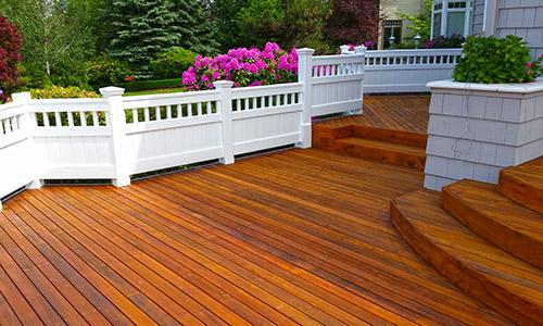 deck refinishing, Kirkland, WA