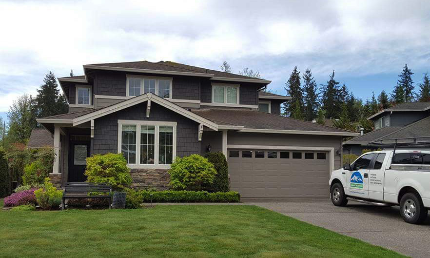 exterior painting by Summit Painting